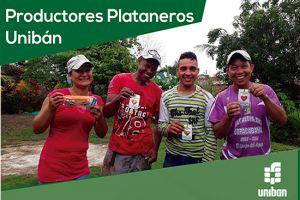 Productores Plataneros con sello Unibán