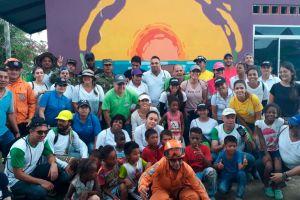 Unibán hizo presencia en el voluntariado Vamos Urabá